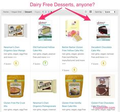 Dairy free desserts? -  http://www.foodsniffr.com/blog/dairy-free-desserts/  Who else wants dairy-free desserts? On a vegan diet or simply avoiding dairy? Then check out the dairy free desserts we have 'sniffed' out for you , and find clean, healthy ones to bring home. Go to Dairy free desserts on FoodSniffr here.      Say hello to Sniffy, the FoodSniffr dog