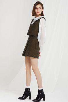 21ddbbfd zara tweed - Google Search | dress in 2019 | Dresses, Tweed, Fashion