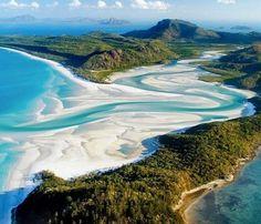 Whitehaven Beach (Queensland, Australia)