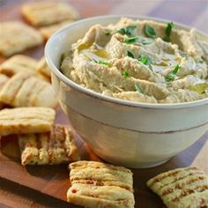 Garlic Parmesan Hummus - Allrecipes.com