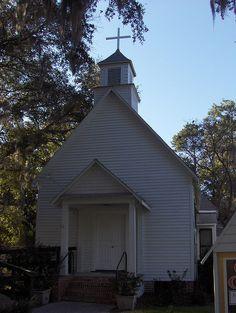 Christ Episcopal St Marys GA by POsrUs, via Flickr