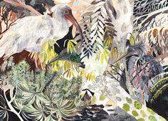 Deep Woods -Original Watercolor Painting