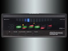 The Korg Pitchblack Poly Portable Black Tuner features the same newly-developed polyphonic tuning functionality as found on the Pitchblack Poly. Yamaha Guitar, Guitar Tuners, Strobing, Black, Black People, All Black