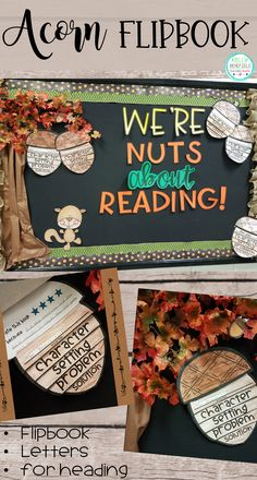 This fun, fall flipbook will be perfect for your students to write about a favorite book that they have read. Then, use the letters included in this packet to create an adorable bulletin board.