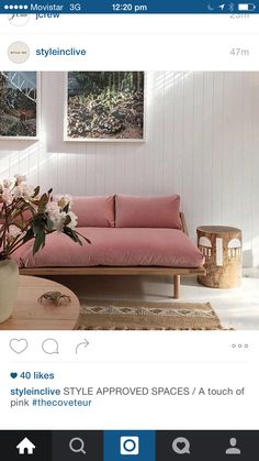 Couch and cladding