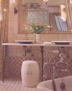 Bath by Barry Dixon tile by Walker Zanger