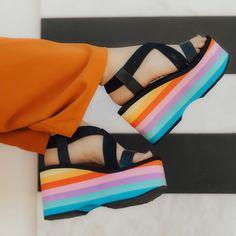 Walkin' on rainbows & sunshine ☀️✨@velvet_sugar (shop link in bio)