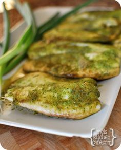 Baked Tilapia with Ginger and Cilantro - has gotten great reviews