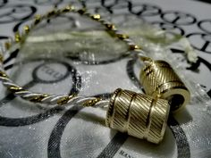 Begleri Catelyn  Brass Beads  Game of Thrones by TauMetalWorks