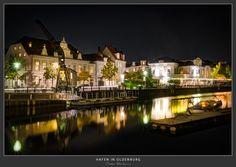 Hafen Oldenburg - Nachtaufnahme