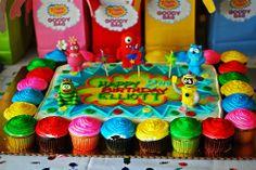yo gabba gabba party ideas | Yo Gabba Gabba Birthday Party!