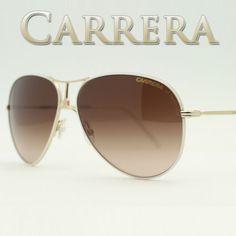 336735e974fe Carrera 4/S 029Q JD Sunglasses GOLDMATTEWHI Genuine Carrera, Eyeglasses,  Sunglasses Women,