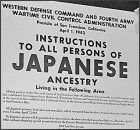Teaching with Documents: Documents and Photographs Related to Japanese Relocation During World War II