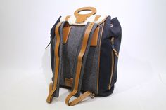 RARE Louis Vuitton LV Shearling Sheepskin Backpack Navy New Retail $9600 | eBay