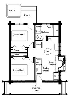 158 Best Small House Floor Plans Images Tiny House Plans
