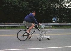 they said i can not go #shopping on #bike they are wrong  ...