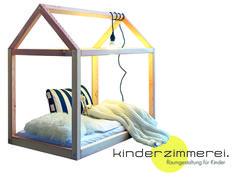 Das Häusle fürs Kinderzimmer - als *Kinderbett oder Spielhaus* einsetzbar und vielfältig zu gestalten. Hänge eine Lichterkette in dein Häusle, verwandle es in eine Höhle oder male das Häusle grün...