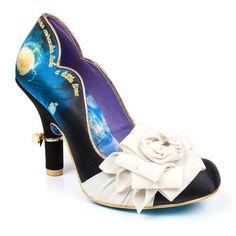 Irregular Choice Cinderella 4331-05A Bibiddi Bobbidi Womens Court Shoes - Black