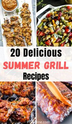 Summer Grill Recipes, Best Grill Recipes, Grilling Recipes, Beef Recipes, Griddle Recipes, Cooking Recipes, Grilled Vegetable Salads, Grilled Food