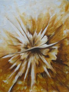 abstrakt  Ölgemäde - Unikat 30 x 40 cm  80,-€