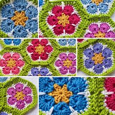 Ravelry: Project Gallery for African Flower Hexagon pattern by Lounette Fourie & Anita Rossouw