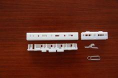 Eisenbahn-Modelle im Polyjet-Druck
