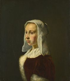 Portrait of the Artist's Wife, Cunera van der Cock (Frans van Mieris the Elder, c.1657-8)'