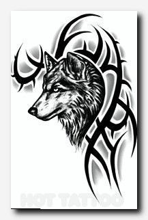 Wolftattoo Tattoo Color Tattoo Artists Lily Butterfly Tattoos Polynesian Tattoo For Women Eagle Ta Tribal Wolf Tattoo Wolf Tattoos Men Wolf Tattoo Meaning