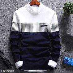 Tshirts & Polos Boys Tshirt Fabric: Cotton Sleeve Length: Long Sleeves Pattern: Striped Multipack: Single Sizes:  15-16 Years (Chest Size: 36 in, Length Size: 26 in)  13-14 Years (Chest Size: 34 in, Length Size: 25 in)  10-11 Years (Chest Size: 30 in, Length Size: 22 in)  11-12 Years (Chest Size: 32 in, Length Size: 23 in)  8-9 Years (Chest Size: 28 in, Length Size: 20 in)  Country of Origin: India Sizes Available: 8-9 Years, 10-11 Years, 11-12 Years, 13-14 Years, 14-15 Years, 15-16 Years   Catalog Rating: ★4 (570)  Catalog Name: Modern Comfy Boys Tshirts CatalogID_2685772 C59-SC1173 Code: 133-13642658-108