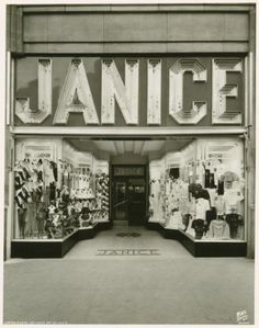 Janice, NYC, New York  Historic 1930s Photo