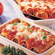 Cannelloni fűszeres paradicsomszószban Recept képpel - Mindmegette.hu - Receptek Lasagna, Cauliflower, Vegetables, Ethnic Recipes, Food, Tagliatelle, Recipes, Cauliflowers, Essen