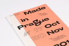 "anymadestudio:  ""MADE IN PRAGUE  Czech Centre London  Anymade Studio  """