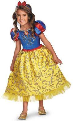 Kids Snow White Deluxe Costume - costumecity.com