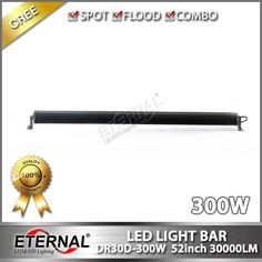 300W 50inch super spot offroad outdoor powersports Jeep  ATV UTV CUV bune buggy motorcycle truck trailer tractor  vehicles heavy duty equipment spot flood combo high power led driving work light bar