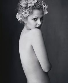 Mark Seliger 'Drew Barrymore' 1995 -repinned by LA portrait photographer http://LinneaLenkus.com  #portraitphotography