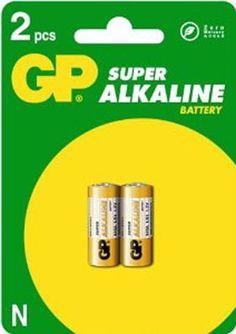 Blister 2 pilas GP LR01 1.5v,  tipo N 12 x 30.2 alcalina #geek #tecnologia #oferta #regalo #novedades