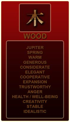 Fortune Cookie:  #Fortune ~ Chinese Elements:  Wood.