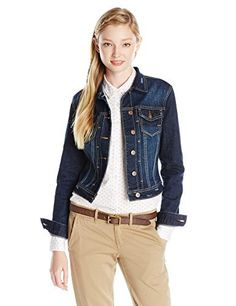 Cute doesn't even begin to describe how you'll look in the Lucas Denim Jacket! Classic denim jacket boasts a touch of stretch for easy movement. Fold-over collar. Full-button front closure. Button flap chest pockets. Long sleeves sport single-button cuffs. Cropped length. 99% cotton,...  More details at https://jackets-lovers.bestselleroutlets.com/ladies-coats-jackets-vests/denim-jackets/product-review-for-unionbay-juniors-lucas-denim-jacket/