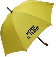 Merde. Il Pleut... mwaha need this for Washington.
