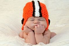 Cleveland Browns baby hT.....from the womb to the tomb 16-0, anything in between to 0-16 Browns for life!