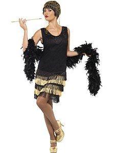 Adult Fringed Flapper Costume Charleston Roaring Womens Fancy Dress New Vestido Charleston, Costume Charleston, 1920s Flapper Costume, Gatsby Costume, Flapper Outfit, Flapper Girls, 1920s Fancy Dress, Ladies Fancy Dress, Costume Shop