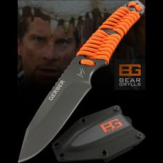 Bear Grylls Paracord Fixed Blade Knife