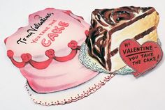 Cake N Ice Cream  Valentine Tags  Variety Set 11  by SiriusFun