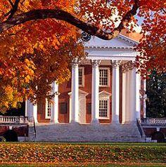 University of Virginia. Designed by Thomas Jefferson.