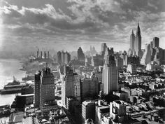 East River Waterfront and Manhattan, 1931 Photographic Print at AllPosters.com
