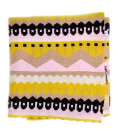 -- Hofdi Square Wool Blanket