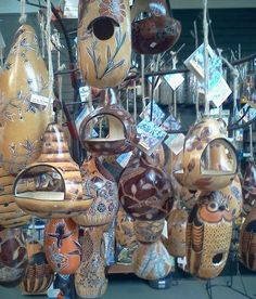 Birdhouse Gourds
