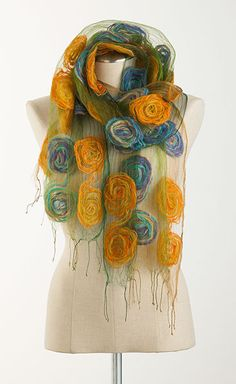 Wispy Circle Scarf, Scarves, Apparel & Accessories, Home - The Museum Shop of The Art Institute of Chicago