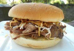 PulledBBQ Beef Sandwiches Recipe *Makes 6-8 sandwiches