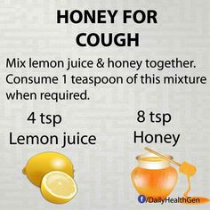 Honey for cough More